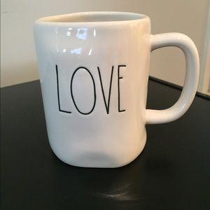 Rae Dunn Love Coffee Tea Mug